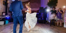 Hornington Manor Farm Wedding Photography First Dance Salsa