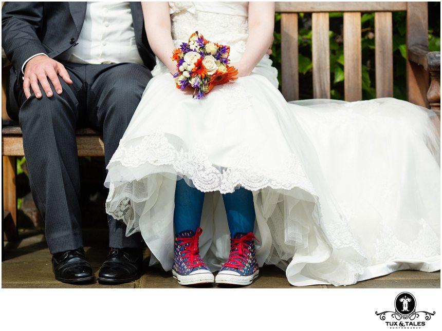 A York Quirky Wedding Couple1