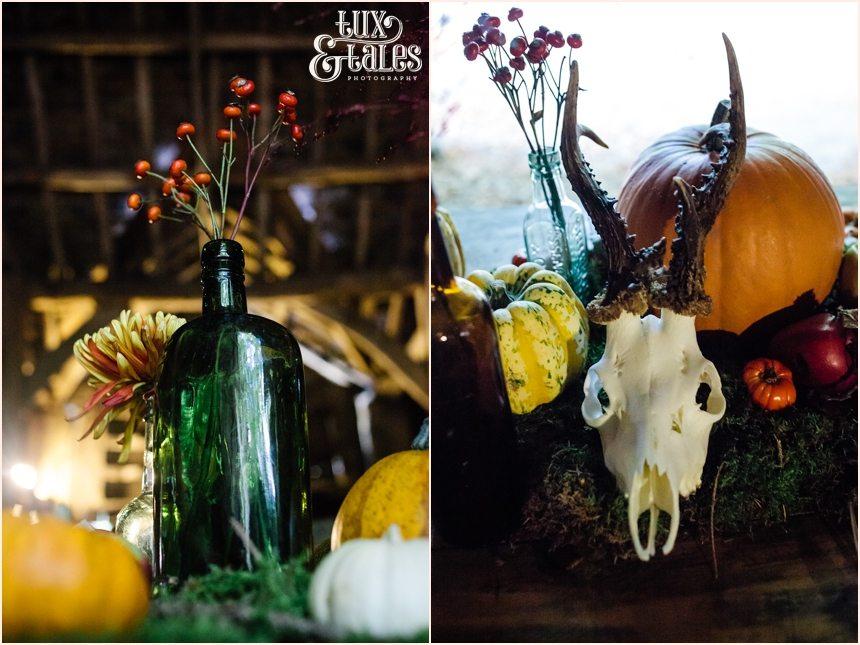 Alterntiave autumn themed wedding