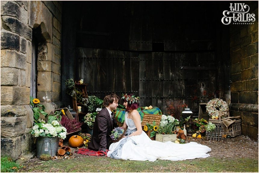 Althernative boho autumn themed wedding