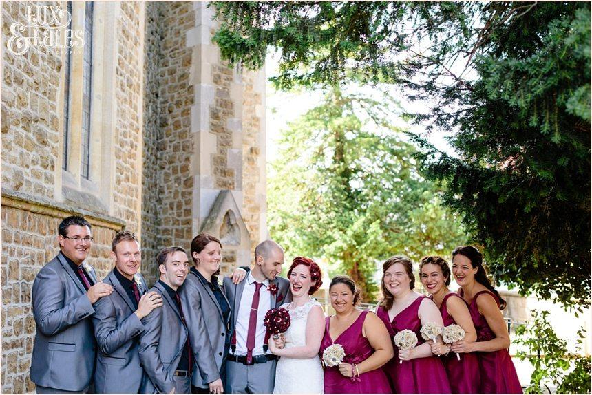 Alternative themed wedding photography