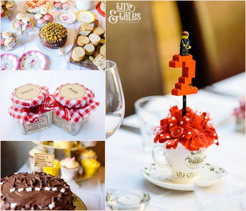 Lego themed DIY wedding in London