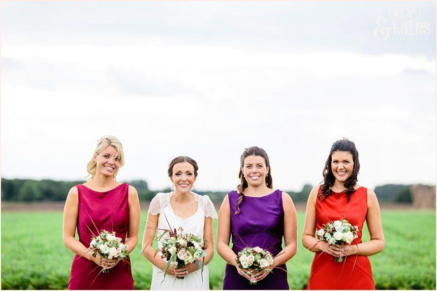 Barmbyfield barn wedding with autumn colours