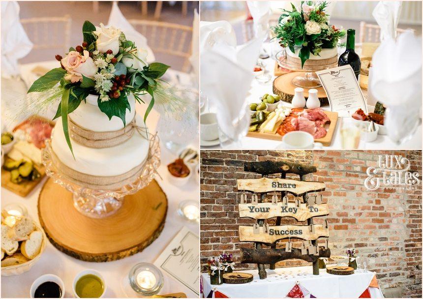 York Wedding Photography Wood theme DIY
