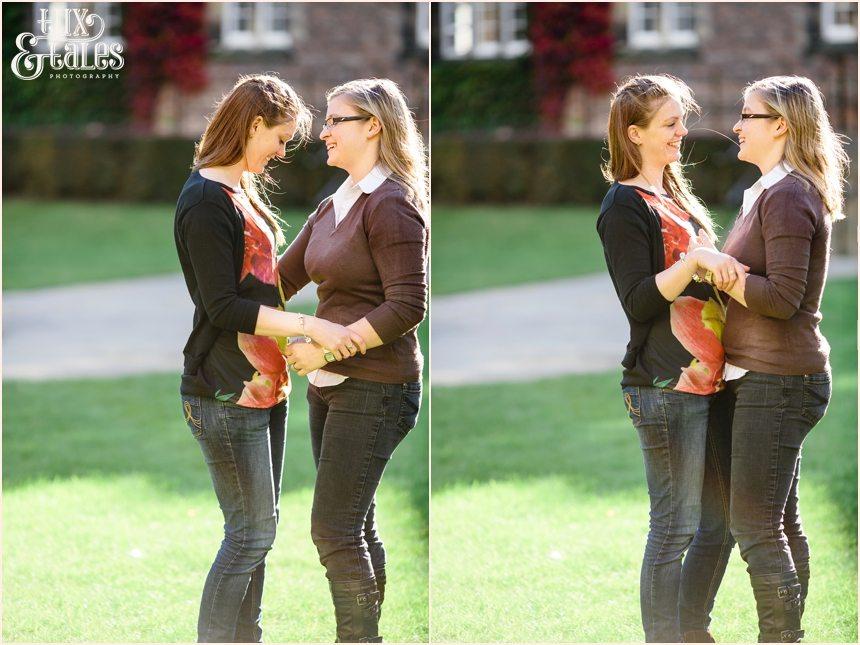 York Civil Partnership Engagement Photography