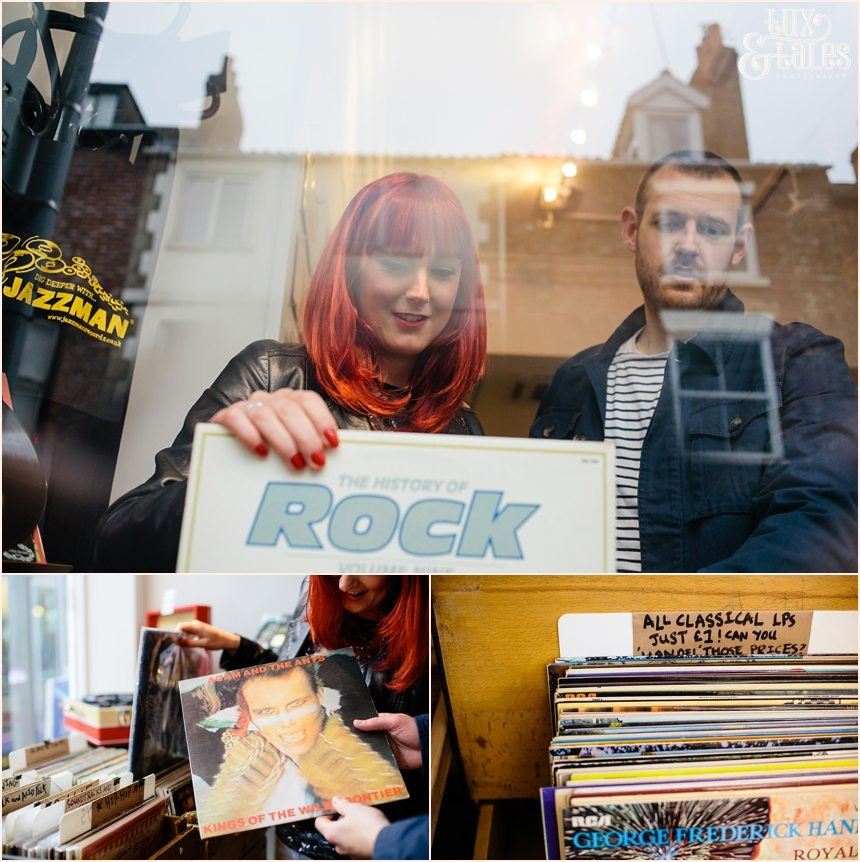 Record story engagement photography in york