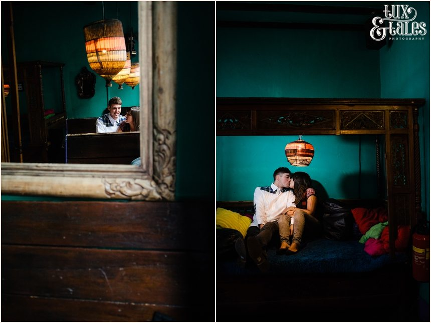 York Evil Eye Engagement Shoot Photography with Moroccan theme