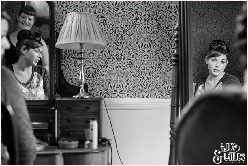 Bride preparation wedding photography Yorkshire