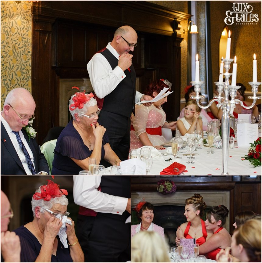 Yorkshire wedding photography speeches