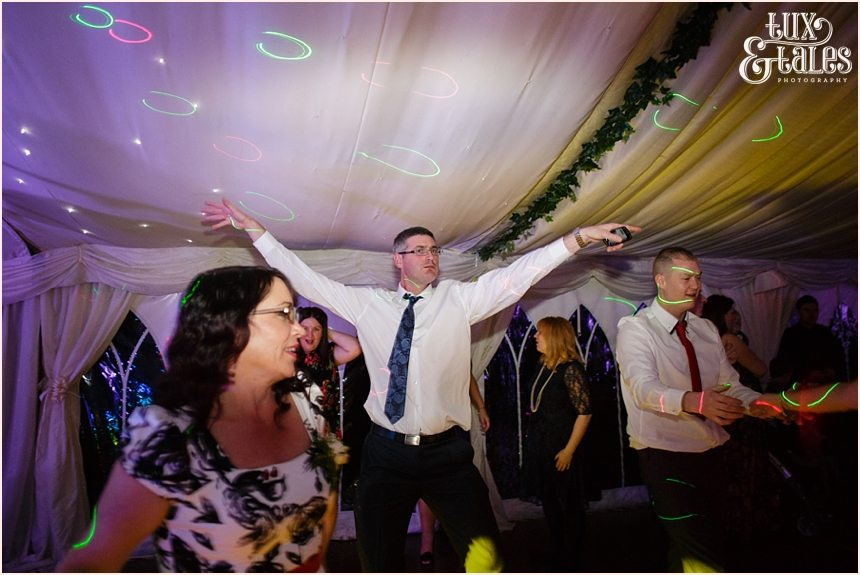Yorkshire wedding photography dancing to the music