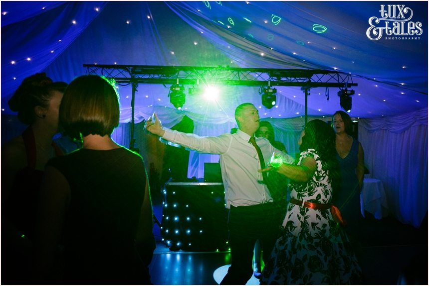 dance floor wedding photography in yorkshire