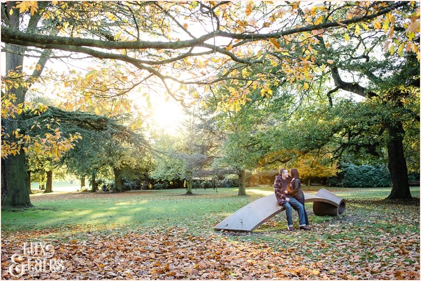 Autumnm engagement shoot