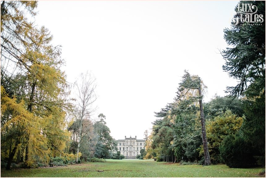 Elvaston Castle in autumn