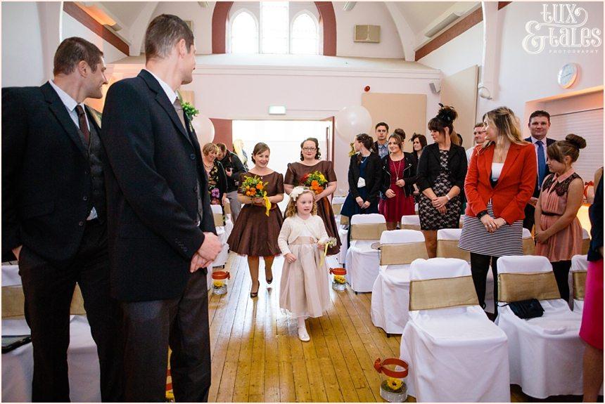 Autumn thtmed wedding at Swanland Yorkshire