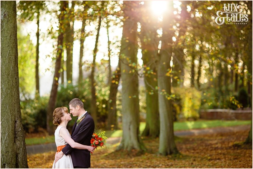 Hull Swanland Autumn themed wedding