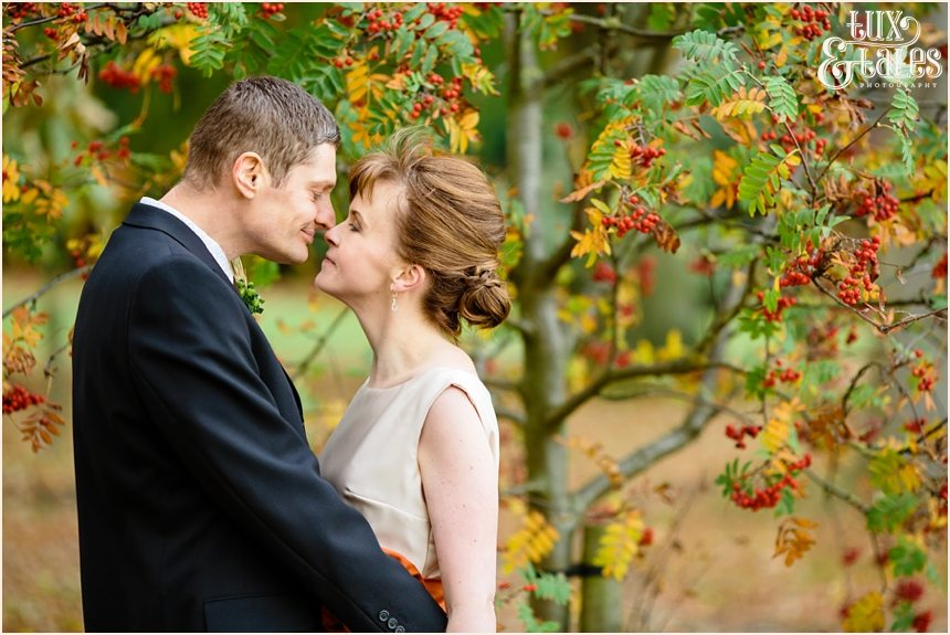 Autumn themed wedding in Yorkshire