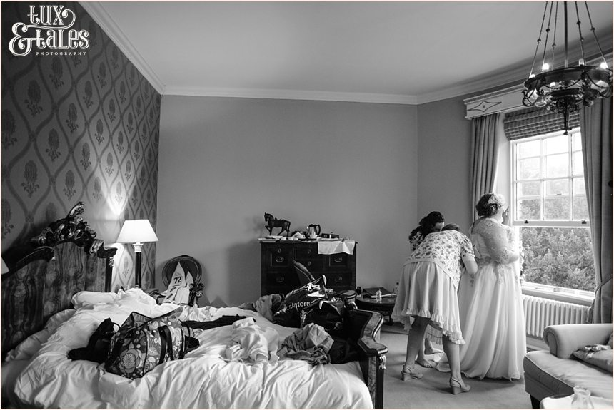 Grays court wedding with an American Bride