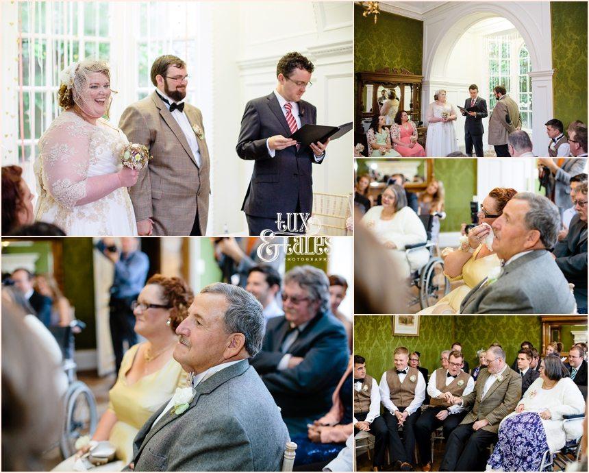 Humanist wedding ceremony in York