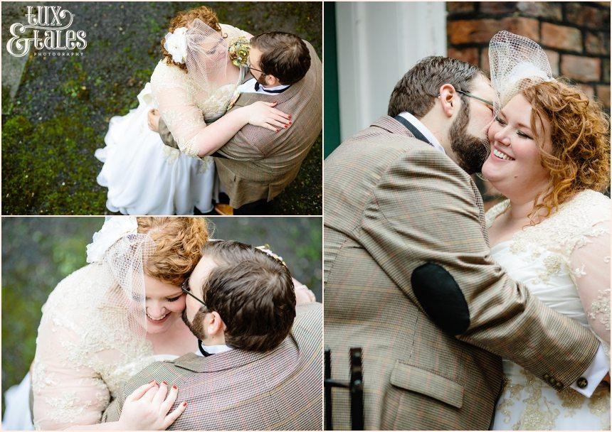 Tweed wedding detailsa t Grays court wedding in York