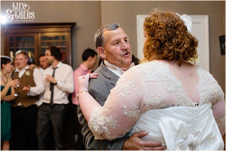 Daddy daughter dance at UK wedding