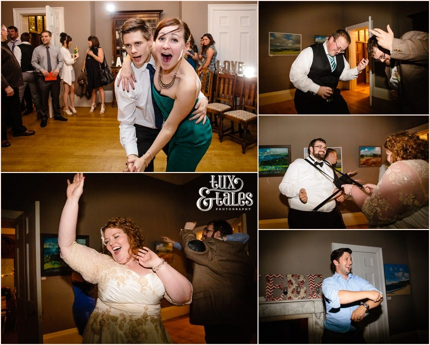 Dance floor laighs and silly poses at York Wedding Photography