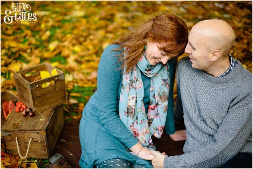 Autumn engagement shoot
