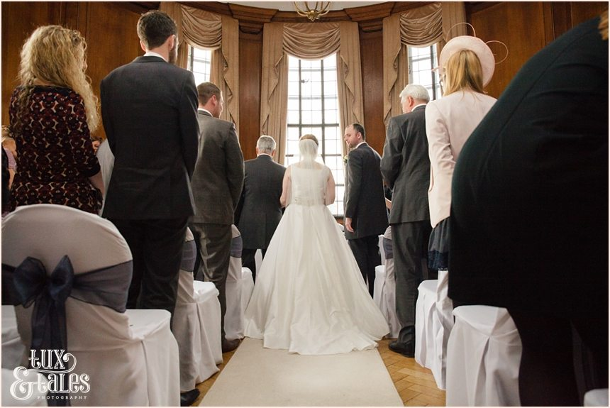 Wedding ceremony at Cedar Court Grand Hotel in York