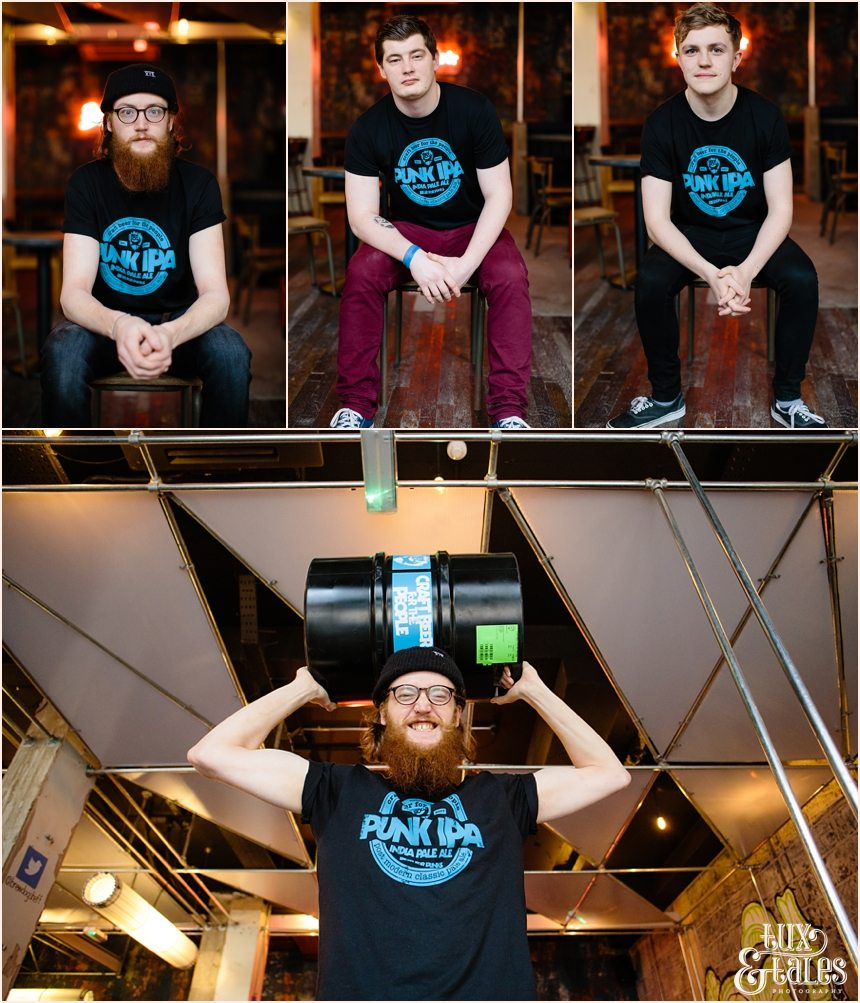 Brew Dog Sheffield Staff portraits
