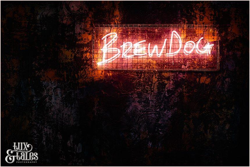 Brew Dog Sheffield Neon Sign