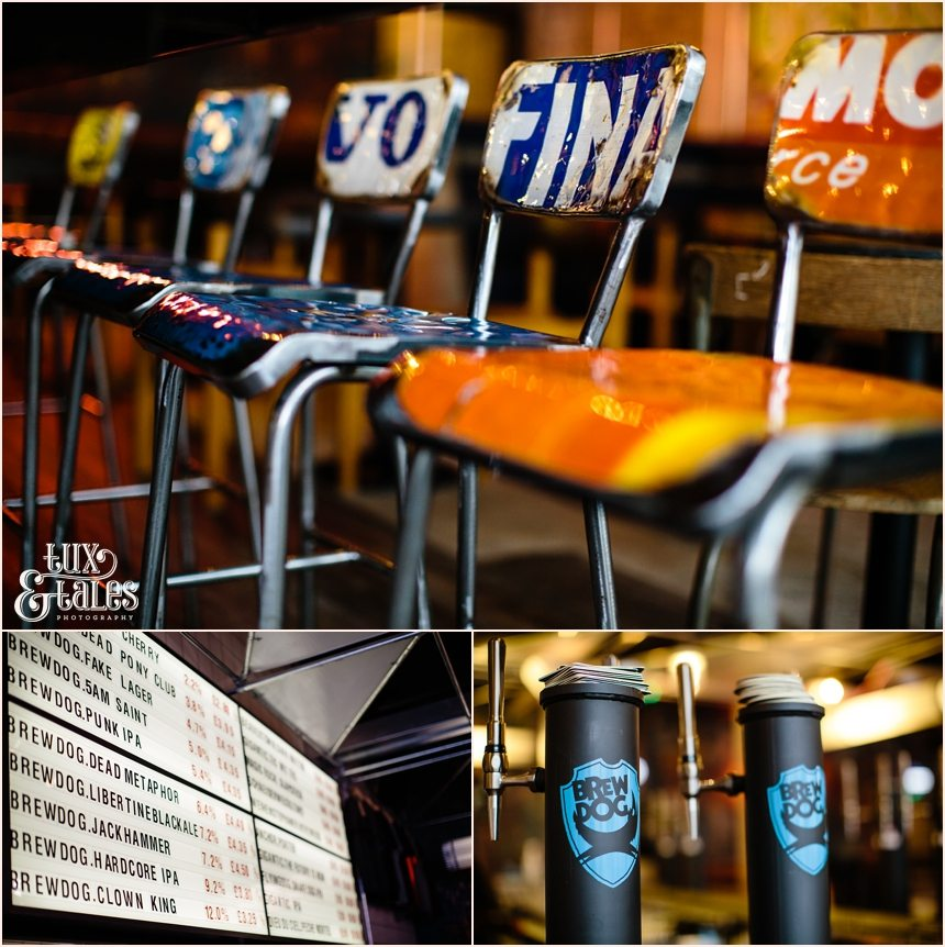 Brew Dog Sheffield furnishings interior recycled materials