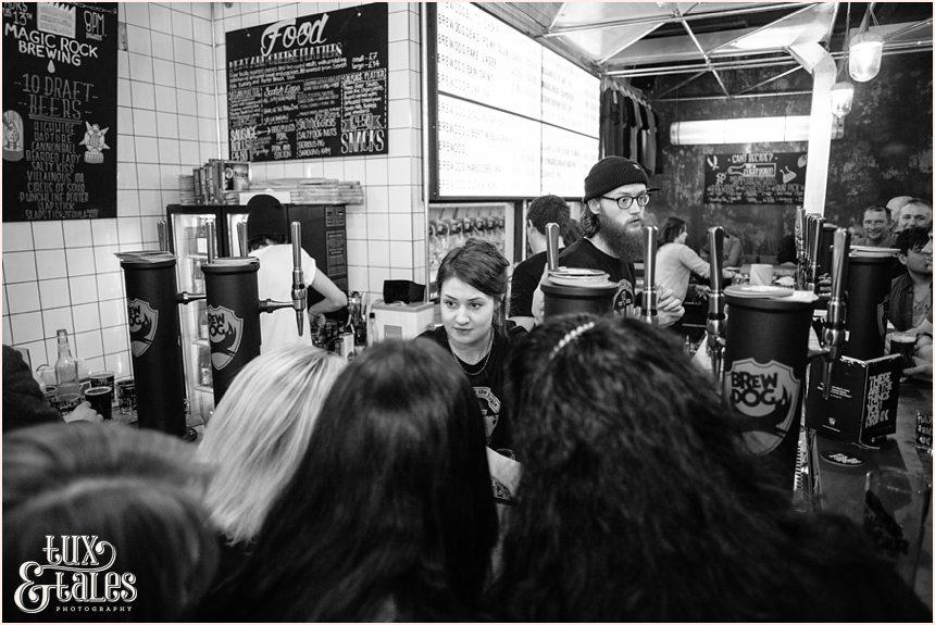 Brew Dog Sheffiled opening night crowds