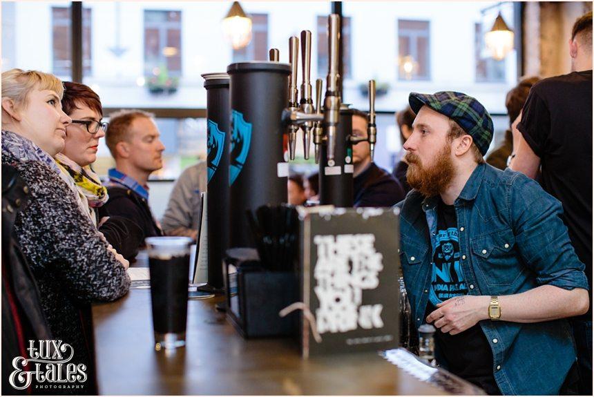 Brew Dog Sheffiled opening night craft beer bar