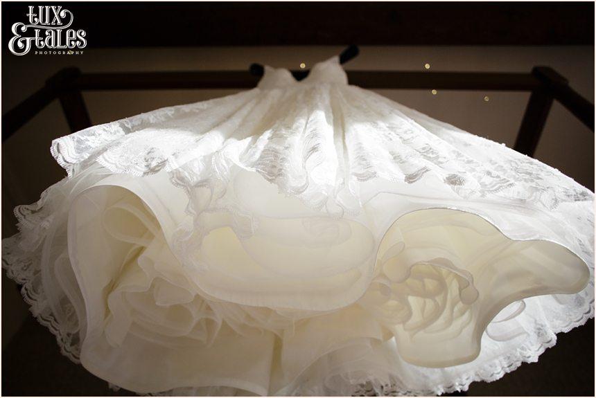 beautiful wedding dress from bottom up at hogarths hotel wedding