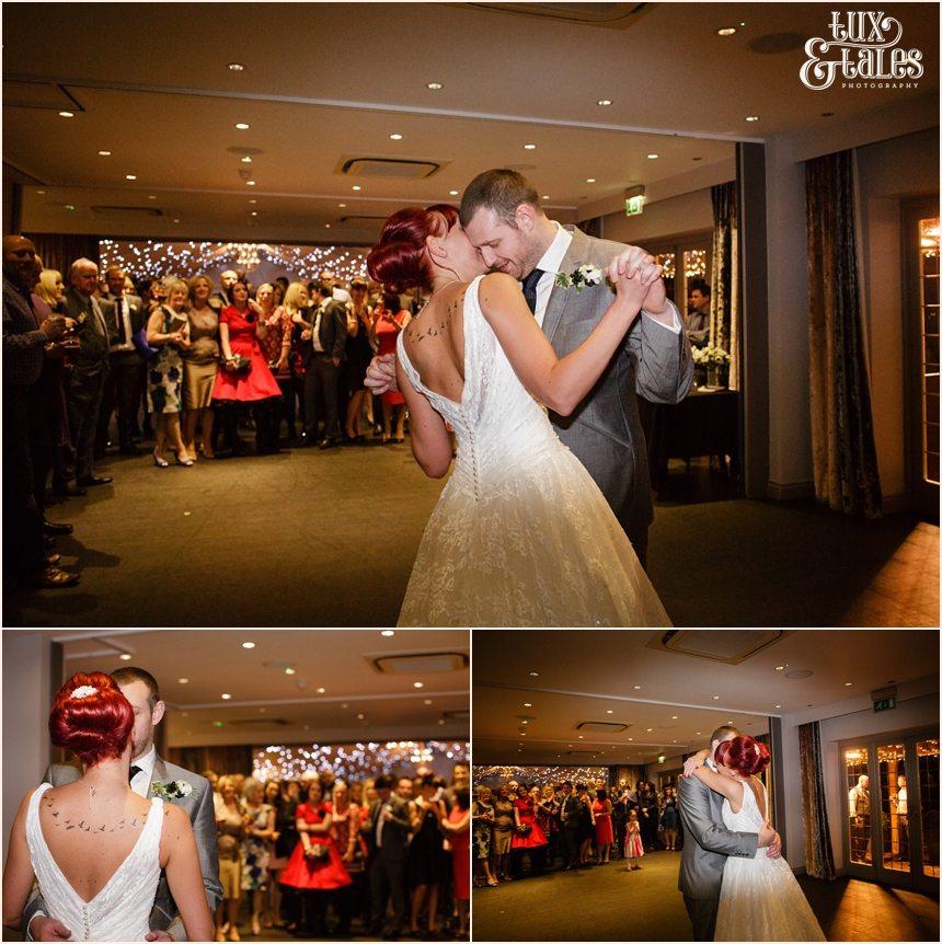 First dance at hogarths hotel wedding