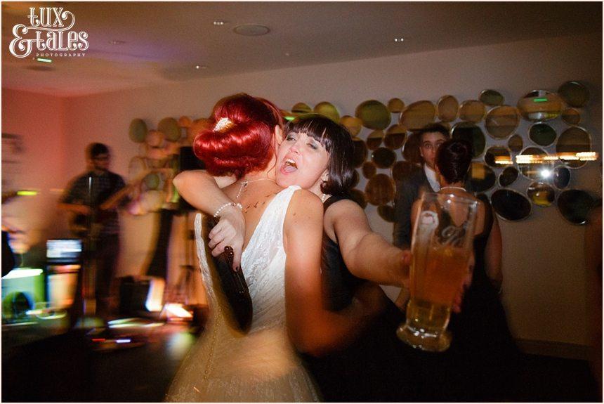Hogarths Hotel Wedding Photography dance with bride