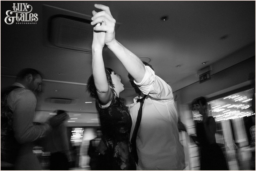 Hogarths Hotel Wedding Photography swirling dance photo