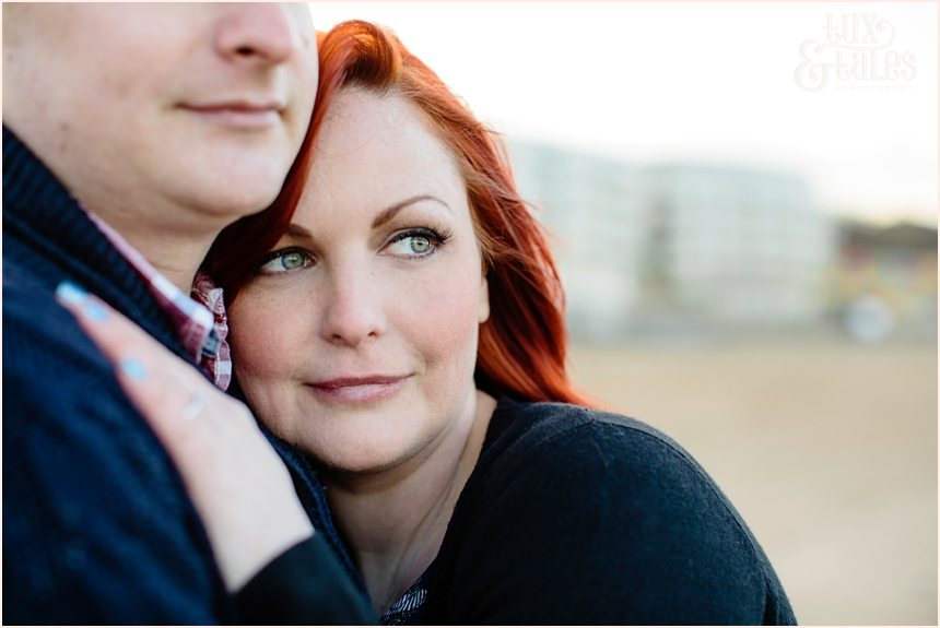Beautiful engagement shoot in scarborough with redhead