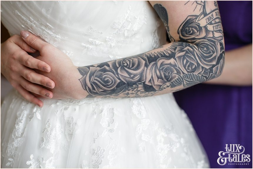 Tattooed Bride Wedding Photography York and Yorkshire_1185