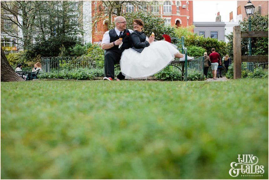 Brighton Wedding Photography Rock and Roll Rockabilly Couple_1705