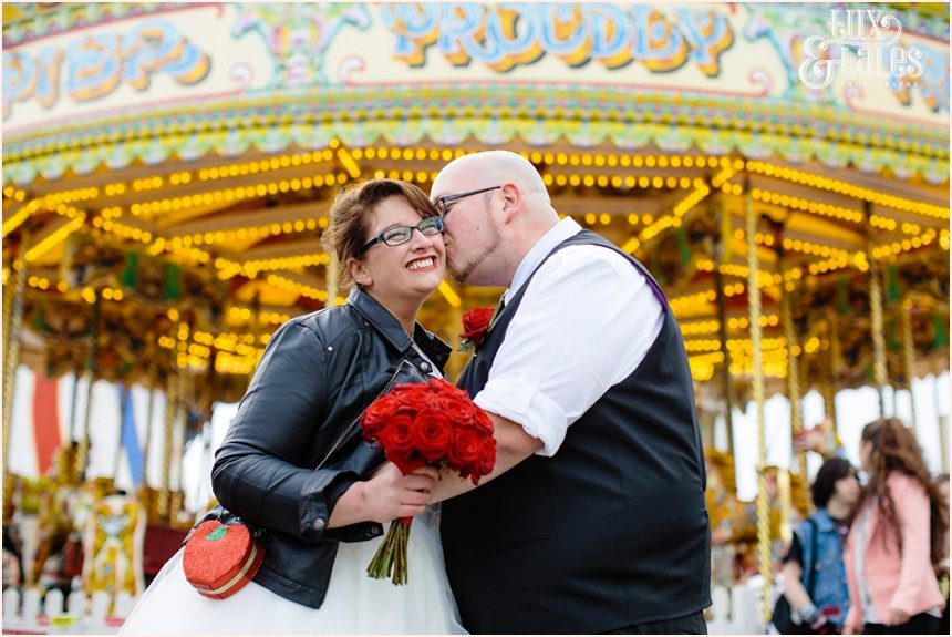 Brighton Wedding Photography Rock and Roll Rockabilly Couple_1710