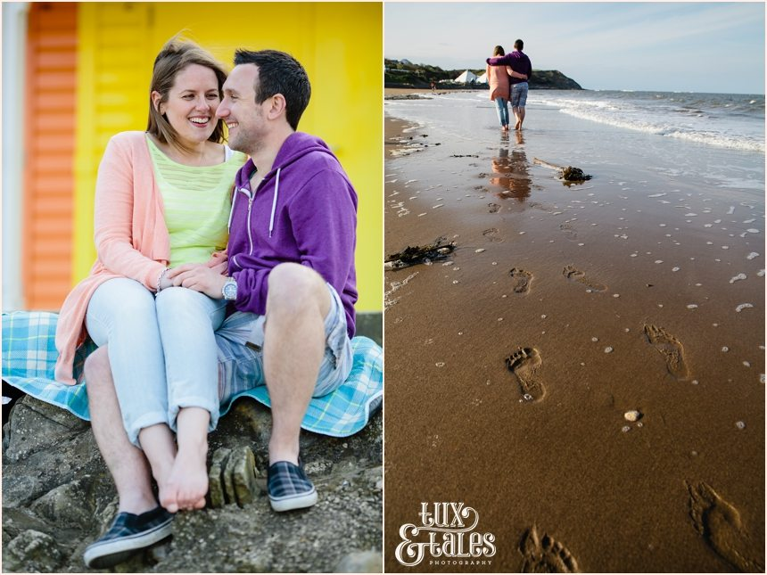 Colourful and fun engagement photography in North Bay Scarborough