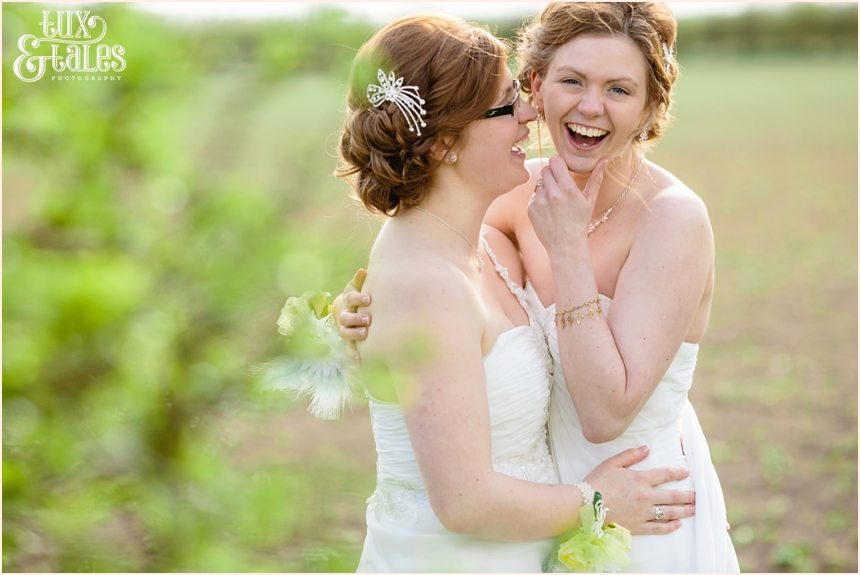 Beautiful same sex wedding photography
