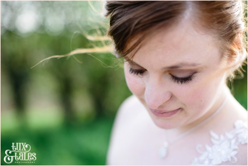 Beautiful bride makeup details York