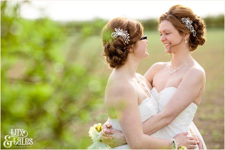 Yorkshire same sex wedding photography