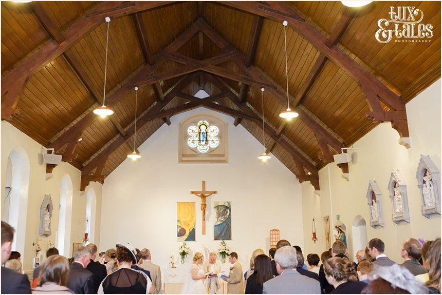 Yorkshire catholic wedding ceremony