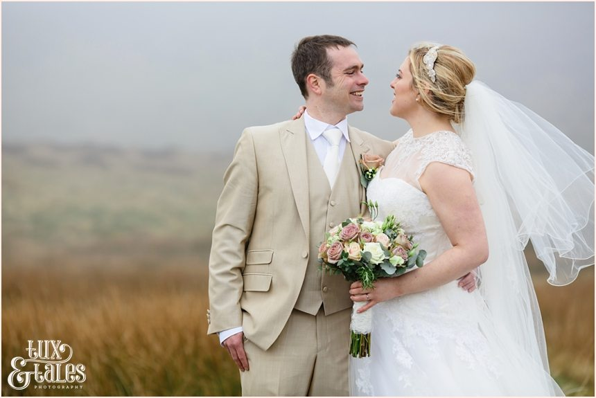 West yorkshire moors wedding photography