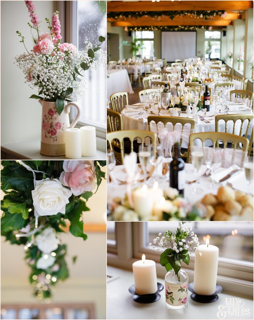 Rustic wedding details at The Alma Inn Wedding