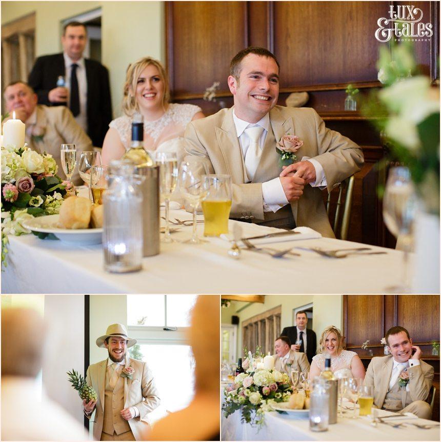 Wedding photography at the Alma Inn Speeches