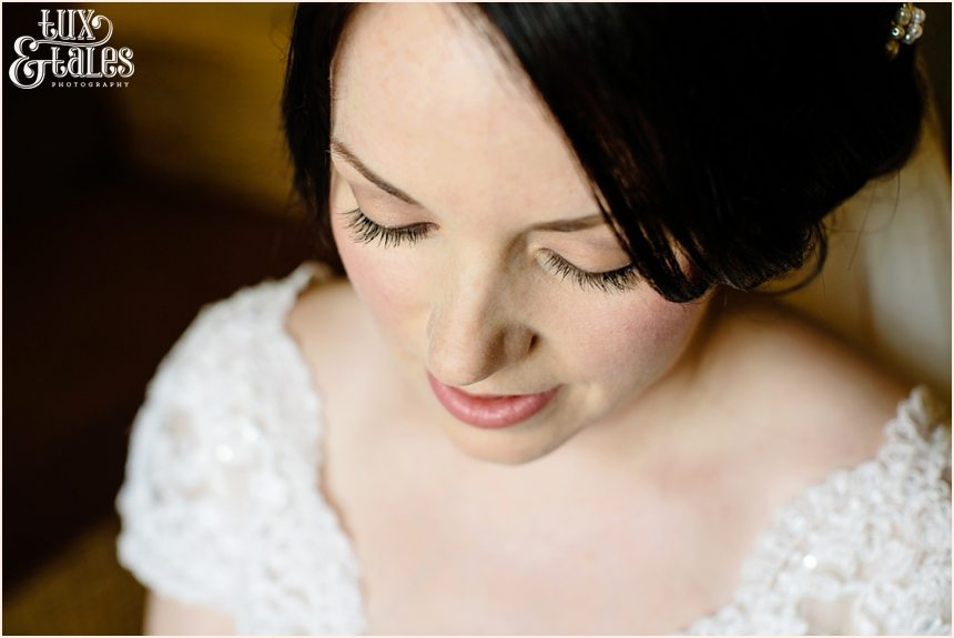 Beautiful relaxed wedding photography of bride at The Ashes