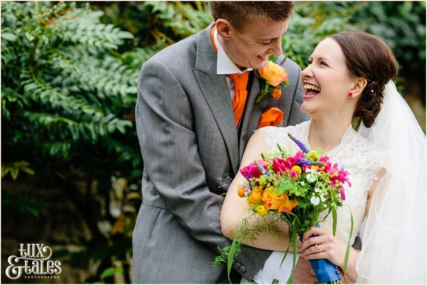 Relaxed wedding photography in Yorkshire